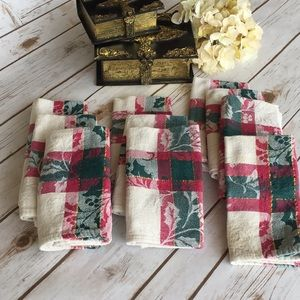 Other - Cloth Holiday Napkins